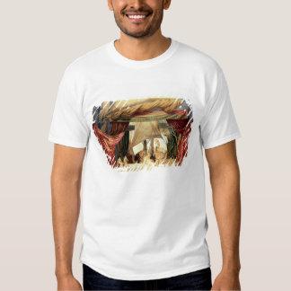 Efectúe el modelo para la ópera 'Tristan e Isolde Camisetas