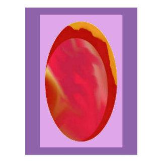 Egg la joya/la postal formadas del arte de