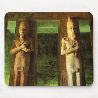 Egipto Abu Simbel estatua de Ramesses II Alfombrillas De Ratón