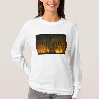 Egipto, Abu Simbel, fachada encendida de pequeño Camiseta