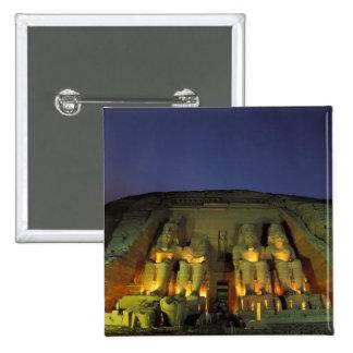 Egipto, Abu Simbel, figuras colosales de Ramesses Chapa Cuadrada