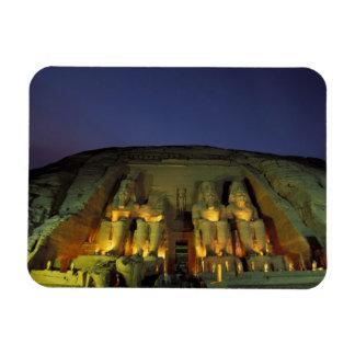 Egipto, Abu Simbel, figuras colosales de Ramesses Imanes Rectangulares