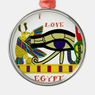 Egipto de amor adorno de cerámica