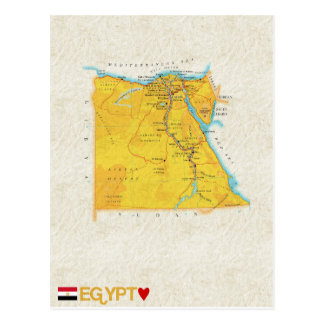 ♥ Egipto de las POSTALES del MAPA