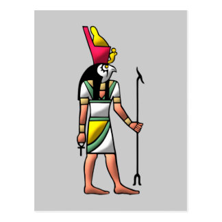 Egipto dios Horus egypt god Postal