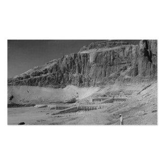 Egipto. Templo del EL Bahre de Deir circa 1936 Plantillas De Tarjetas De Visita