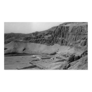 Egipto. Templo del EL Bahre de Dier circa 1936 Tarjeta Personal