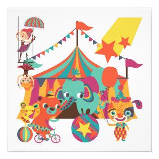 Ejecutantes de circo