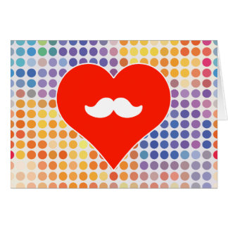 Ejecutivo del amor tarjeta de felicitación
