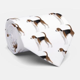 Ejemplo básico de la raza del perro del raposero corbata