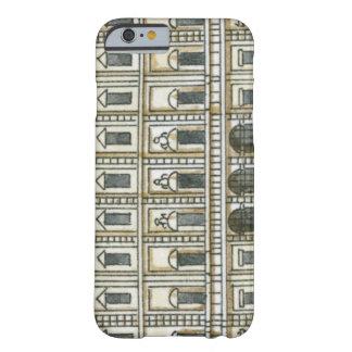 Ejemplo blanco el décimo Oc del del de y negro de Funda Para iPhone 6 Barely There
