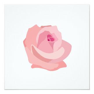 Ejemplo color de rosa rosado comunicado personalizado