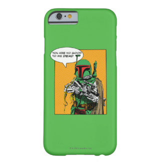 Ejemplo de Boba Fett Funda Barely There iPhone 6