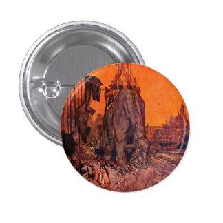 Ejemplo de hadas Timlin del arte de la fantasía Chapa Redonda 2,5 Cm