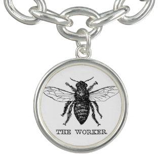 Ejemplo de la antigüedad de la miel del abejorro pulsera con dije