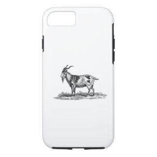 Ejemplo de la cabra nacional del vintage - cabras funda iPhone 7