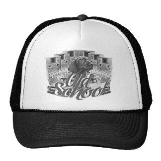 Ejemplo de la escuela vieja gorras de camionero