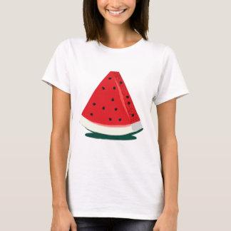 Ejemplo de la sandía camiseta