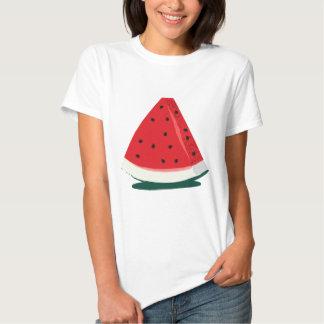 Ejemplo de la sandía camisetas
