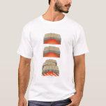 Ejemplo de las placas oceánicas que separan y camiseta