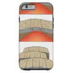 Ejemplo de las placas oceánicas que separan y funda de iPhone 6 tough
