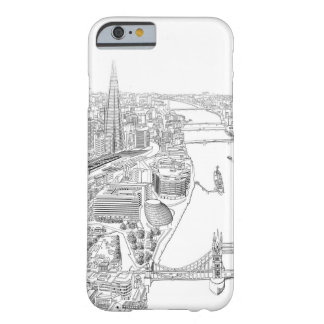 Ejemplo de Londres Funda Barely There iPhone 6