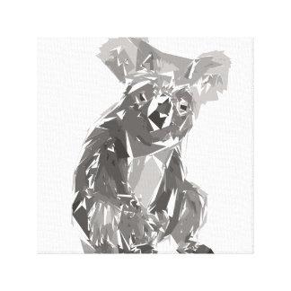 Ejemplo del arte del polígono de la koala