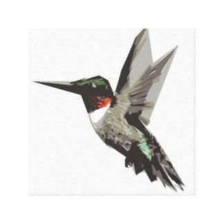Ejemplo del arte del polígono del colibrí