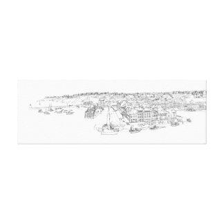 Ejemplo del Belle-Ile-en-Mer Impresion En Lona