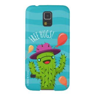 Ejemplo del cactus/caja divertidos del teléfono de funda galaxy s5