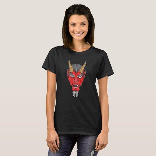 Ejemplo del diablo rojo camiseta