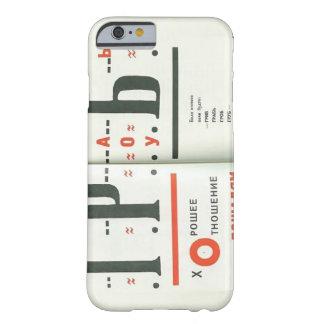 Ejemplo del EL Lissitzky- a 'para el voice Funda Para iPhone 6 Barely There