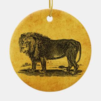 Ejemplo del león del vintage - animal del africano ornamento para reyes magos