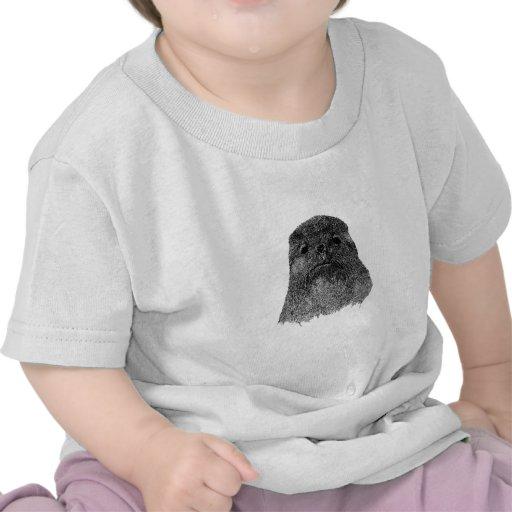 Ejemplo del lobo marino camisetas