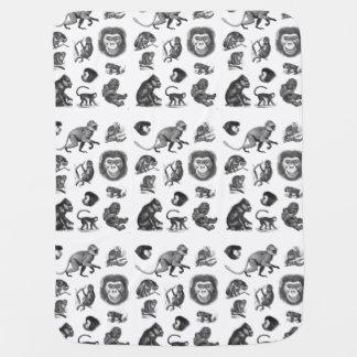 Ejemplo del primate del vintage
