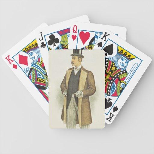 Ejemplo del traje británico, pub. por el Juan Baraja Cartas De Poker
