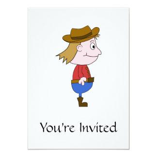 Ejemplo del vaquero invitacion personal