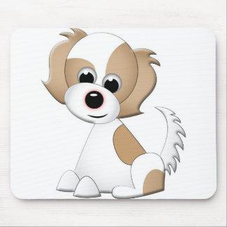Ejemplo del vector de un perrito tapete de raton