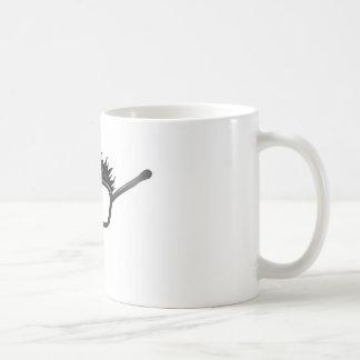 Ejemplo divertido del disfraz taza de café