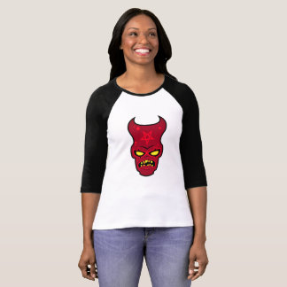 Ejemplo irritable del demonio camiseta