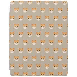 Ejemplo lindo del gato de Tabby Cubierta De iPad