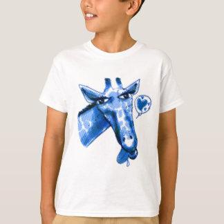 ejemplo precioso del estilo del dibujo animado de camiseta