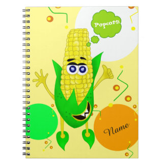 Ejemplo único del monstruo del maíz para los niños cuaderno