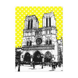 Ejemplo único Notre Dame de la diversión en Impresiones De Lienzo