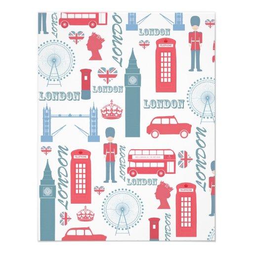 Ejemplos de moda frescos de la señal de Londres de Anuncio Personalizado