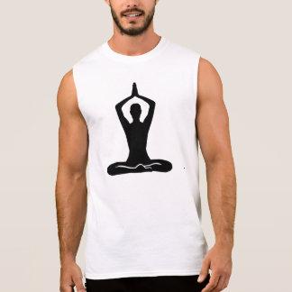 Ejercicio de la meditación camisetas sin mangas