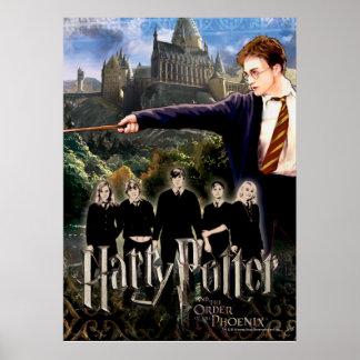 Ejército 3 de Harry Potter Dumbledore Poster
