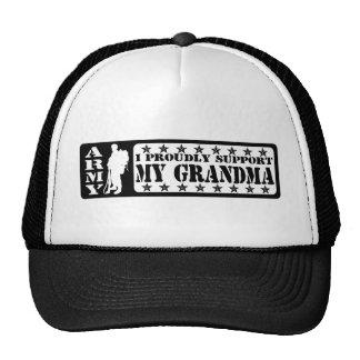 EJÉRCITO - apoye orgulloso a la abuela Gorras De Camionero