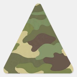 Ejército Camo Pegatina Triangular