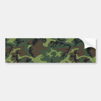 Ejército Camo Pegatina De Parachoque